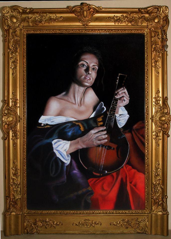 Uno dei dipinti eseguiti durante i nostri corsi
