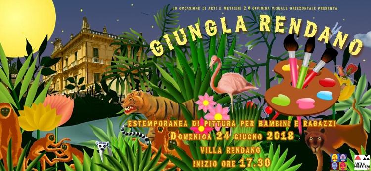 banner giungla rendano